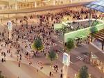 Construction will pop soon on public plaza at Bucks arena