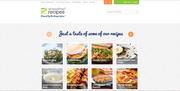 The Stressfree Recipes website.