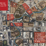 Six mixed-use River Walk sites up for bid, attracting developers worldwide