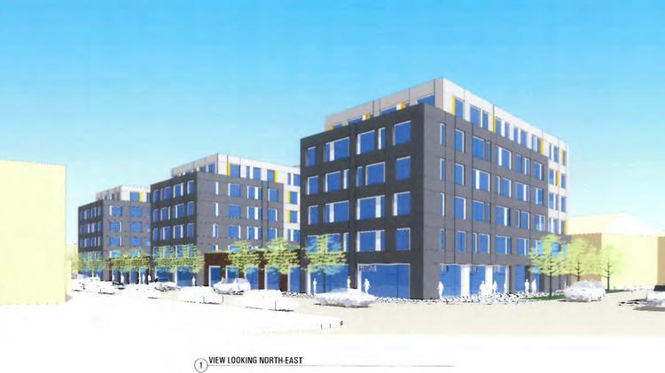 OSU student apartments proposed for 7th and High in Royer/CA