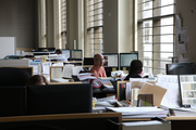 Employees at Dull Olson Weekes enjoy natural daylight in its Federal Reserve offices.