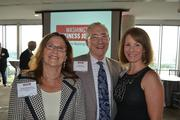 From left, Paula Rothenberg of Hope Connections for Cancer Support, Lyles Carr of The McCormick Group and Mary-Claire Burick of MC Strategy.