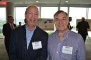 Neil Simon, left, of Blake Real Estate, and Ronnie Mervis of Mervis Diamond Importers.