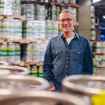 After leaving Boulevard's owner, <strong>Thorpe</strong> becomes CEO of an iconic beer brand