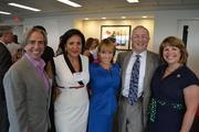 From left, Ernesto Santalla of Studio Santalla; Angela Franco, CEO of the Greater Washington Hispanic Chamber of Commerce; Nicole Quiroga of Telemundo; Lyles Carr of The McCormick Group; and Lidia Soto-Harmon, CEO of the Girl Scout Council of the Nation's Capital.
