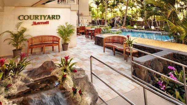 Among RLJ Lodging Trust's portfolio is a Courtyard by Marriott in Waikiki Beach.