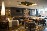 A lounge at Union Wharf includes plenty of seating room.