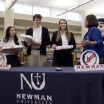 Ten students win Newman University's top scholarship