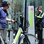 Hubway bike-sharing system has a new name, thanks to Blue Cross deal