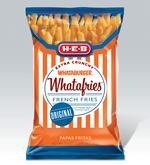 H-E-B set to stock Whatafries on store shelves this week
