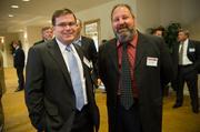 Thomas Bailey, left, and Nick Garruba of Brentwood Bank.