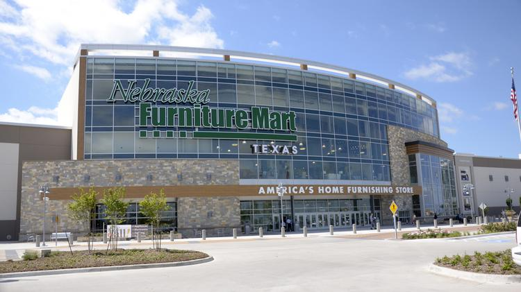 Nebraska furniture mart sets grand opening for thursday for Furniture mart