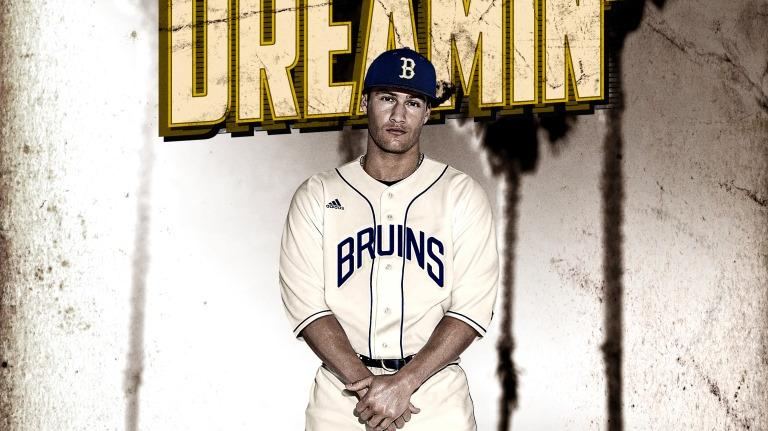 new product 2650b b3867 Adidas honors Jackie Robinson with new UCLA uniforms ...