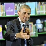 In N.C. speech, Obama calls for equal pay (PHOTOS)