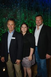 From left to right: Bob Wolfing, Kathy Marshall and Brent Brown, all from Latitude 40.