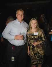 Mike Velette of Windstream Communications and Camille Morris of Windstream Communications.