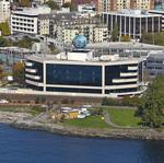 P-I globe building gets a new tenant – IMS Health/<strong>Appature</strong> –as companies flock to the waterfront