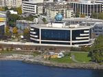 Seattle waterfront building sells, landmark P-I globe not included