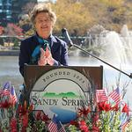 First mayor of Sandy Springs <strong>Eva</strong> <strong>Galambos</strong> dead at 87