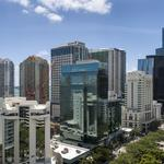 Banco Santander building on Brickell listed for sale, redevelopment possible
