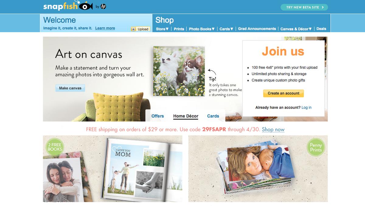 Snapfish Online Photo Storage Dandk Organizer