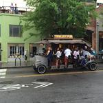 Another round down: Pedal pubs one step closer to operating in Winston-Salem