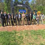 Construction begins on Durham's East End Connector