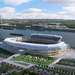 Dome board spending for riverfront stadium nears $6 million