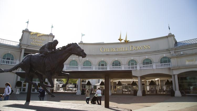 ​Churchill Downs Racetrack wants Louisville Metro Government to close several streets and alleys west of the track so it can expand its parking capacity.