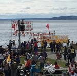 Controversial oil rig expected to reach Seattle Thursday afternoon
