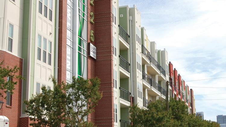 MAA Owns The 1225 South Church Apartment Community In South End.