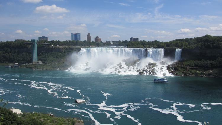 Live pictures of niagara falls