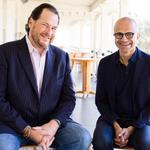 It's hard to recruit tech talent and that's why Microsoft should make a bid for Salesforce