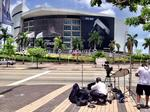 Game 7 hype builds at American Airlines Arena – slideshow
