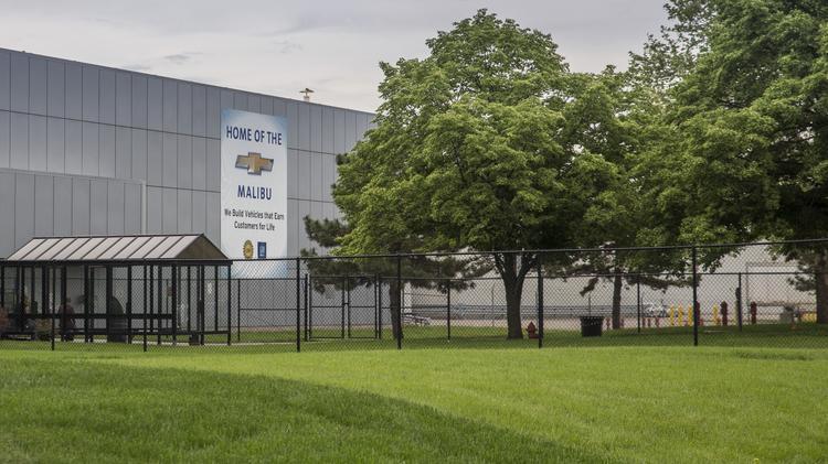 Gm will more than double kck plant 39 s summer shutdown for Fairfax motors fairfax va