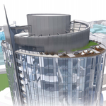 Fall construction start eyed for apartment high-rise near Amazon towers