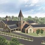 Displaced by Falcons, historic church finds a new home