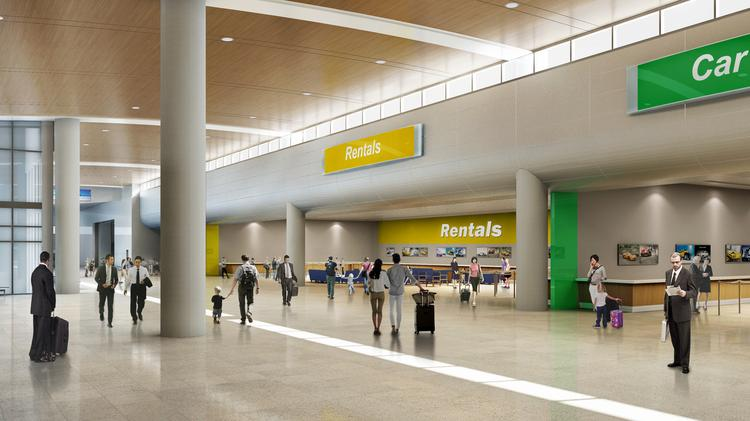 Tampa International Airport Pushes Back Opening Of New Rental Car - International car center
