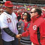 Cranley's best Reds memories involve his father, son