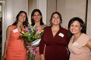 Sixteen businesswomen were honored for their leadership and commitment to the community at the 2013 Women Who Mean Business event, including Alice Perez, second from left.
