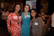 Sixteen businesswomen were honored for their leadership and commitment to the community at the 2013 Women Who Mean Business event, including Kristen Castanos, center.