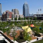 See Cincinnati's newest place to play: Smale Park's playground (PHOTOS) (Video)
