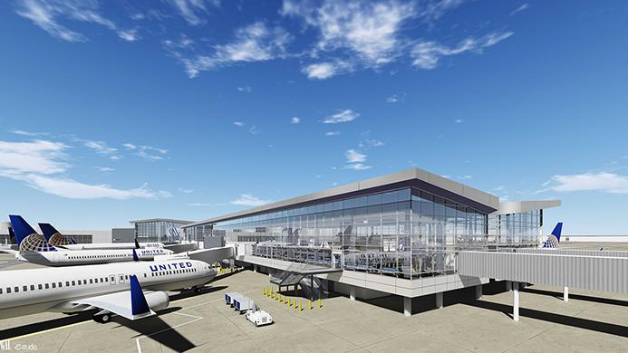 United Airlines Houston Airport System To Break Ground On