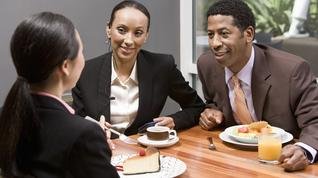 What's your favorite Triad restaurant for a business lunch?