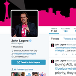 T-Mobile CEO Legere has more Twitter followers than AT&T, Verizon, Sprint combined
