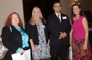 From left: Orange County Comptrollers Laurie Campbell, Robin Ragaglia, Barry Skinner and Karen Holder