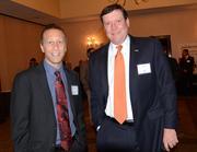 Brett Milove of TeleTraffic and Paul Jessen of Bank United