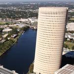 Round and round we go ... Rivergate Tower back on the market