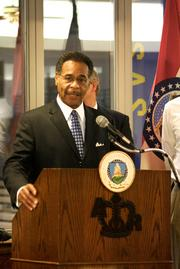 U.S. Rep. Emanuel Cleaver, D-Kansas City, lamented the farm bill's failure and said the immigration reform bill before the Senate would not pass in the House if it was presented today in Kansas City on June 21, 2013.