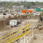 Get an up-close look at massive Zoo Interchange construction